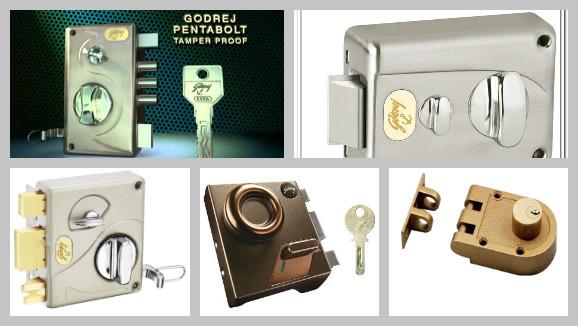 Main Door Locks Rim Locks Heavy Duty Door Bolt Multi