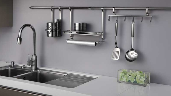 These help in utilising the otherwise wasted space in kitchens. The mid way  fittings and accessories include ...