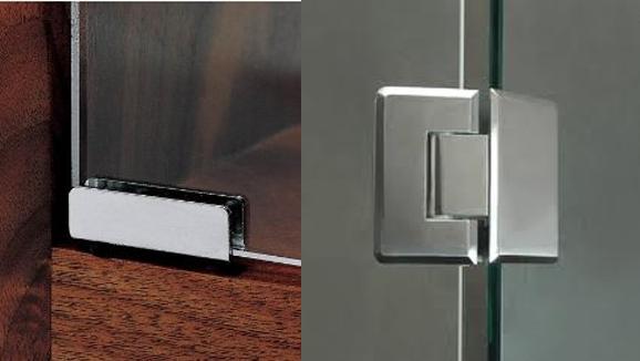 Furniture Glass Fittings Tuff Glass Fixer Steel Bar
