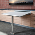 Pull Out Table with single folding leg - 600mm (Medium) - T-ABLE