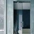 Sliding Folding System for Glass Max. 2 Panels - with Clicking Hinge - Satin Chrome