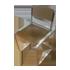 Invisible Folding Chair - Transparent Bronze Colour