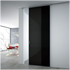 Sliding Door with aluminium panel - Half-visible Easy Frame