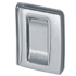 Sliding Door Handle Minima <br>Satin Chrome Finish