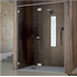 System for Shower Cabin with Folding Doors for niche