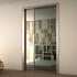 Aluminium Frame for Flush Pocket Sliding Doors - Anodized Aluminium Finish