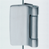 Vertical Hinge Slim Side Hinge with Universal fixing plate for any rebates - Chrome perla Finish