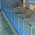 Profile for Glass Railings - adjustable railing system  Glass - 8+8mm