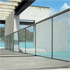 Profile for Glass Railings - adjustable and recessed railing system - Glass - 8+8mm