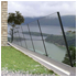 Profile for Glass Railings - Inclined anti-vertigo railing system - Glass 8+8mm
