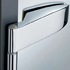 Side hinge One german type - Satin Chrome Finish