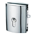 MINIMA BOTTE DEADLOCK for cylinder (PZ) - Lock with Bolt - Satin Chrome Finish