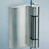 STILO SIDE HINGE - with universal fixing plate for any rebates depth - Satin Chrome Finish