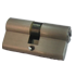 High Security Cylinder - 60mm - Satin Nickel Finish