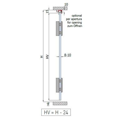 Sliding Folding System - Glass Max. 2 Panels - SC