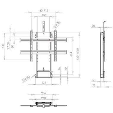 TV Lift - plasmas/large LCDs