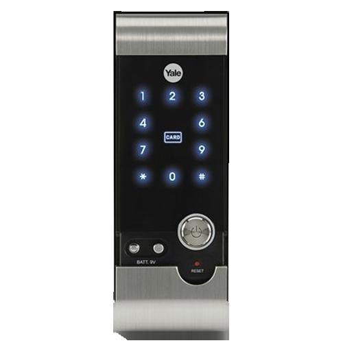 Buy Hi Tech Rf Card Digital Door Lock Rim Lock Black