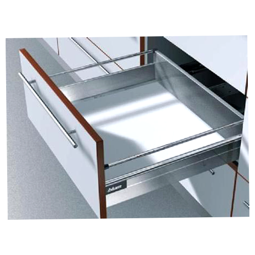 Buy Tandem Box Plus Full Extn Grey High Fronted Drawer 500mm B Height 160 Mm Online In India