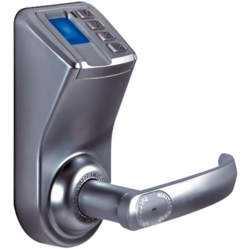Buy Fingerprint Lock Silver Colour Online in India | Benzoville ...