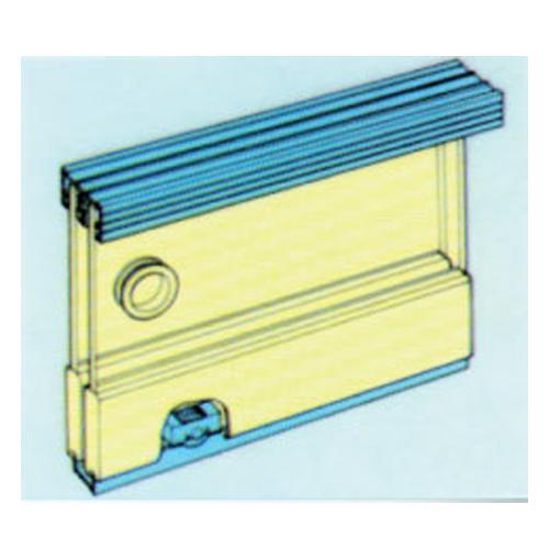 Buy zenith glass cabinet twin sliding door kit 5 ft in for 5 ft sliding glass door