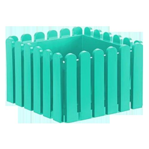 Buy LANDHAUS Planter - 38cm - Turquoise Online in India ...