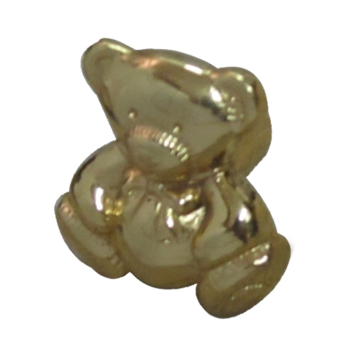 Buy Teddy Bear Small Cabinet Knob Gold Finish