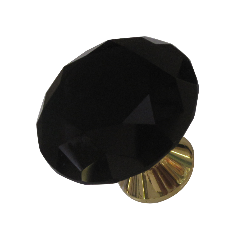 Black Crystal/Gold Finish