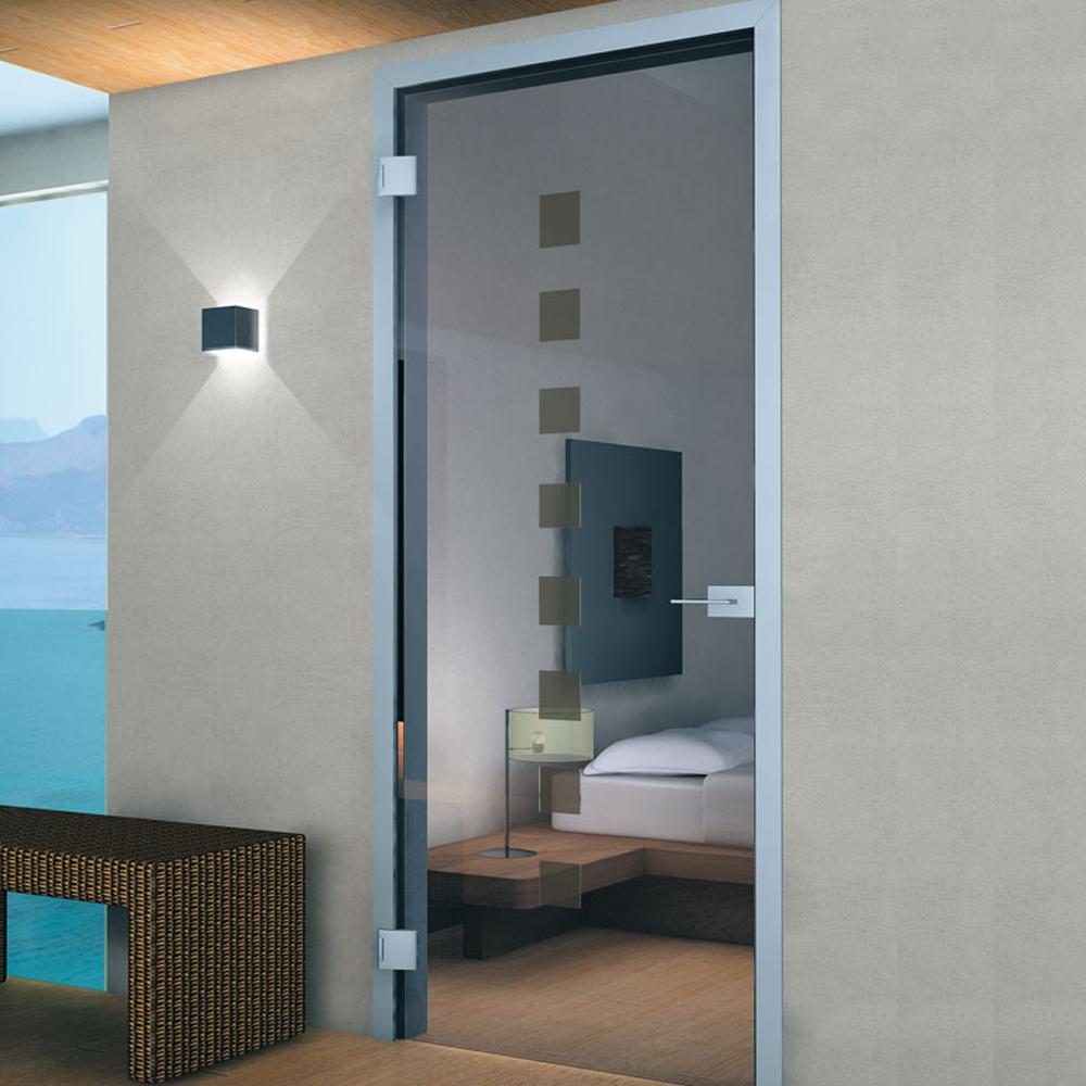 Buy Door Frame anodised aluminium for hinged doors - 950 X 2500mm ...