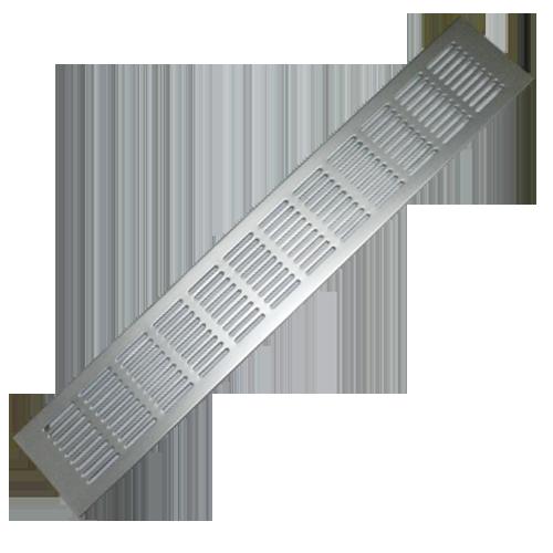 Buy ventilation grill 310mm aluminium finish online in india benzoville - Grille ventilation aluminium ...