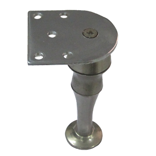 Furniture Leg 130mm Stainless Steel Finish