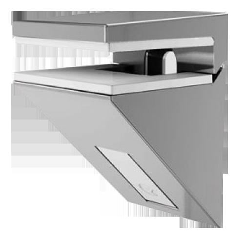 Buy Kalabrone Mini Glass Shelf Support Bright Chrome