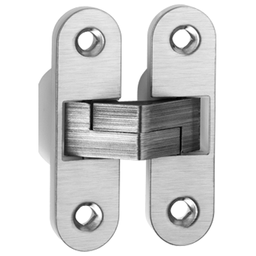 Buy concealed door hinge stainless steel finish online in - Hidden hinges for exterior doors ...