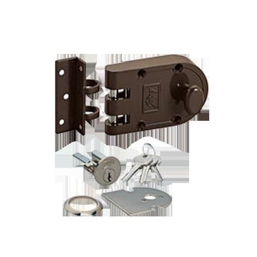Buy Ultra Vertibolt 1c Door Lock Texture Brown Colour
