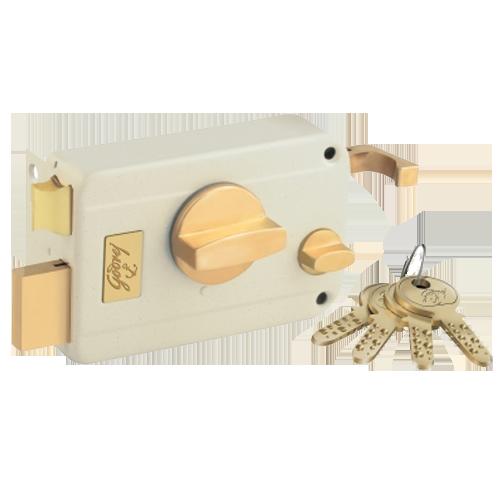 Godrej Modular Kitchen Accessories: Buy ULTRA TWIN Bolt Door Lock 1CK Inside Opening Satin