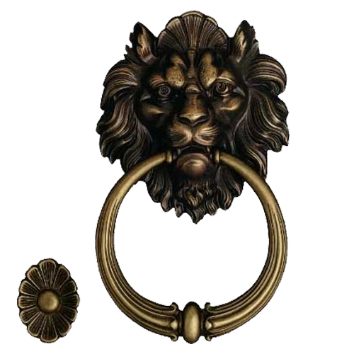 Door Knockers - 110mm - Antique Bronze Finish - Buy Antique Bronze Finish Door Knocker Online In INDIA Benzoville
