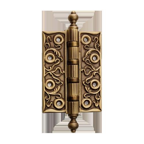 More Views - Buy Vintage Door Hinge Patine Matt Finish Online In INDIA