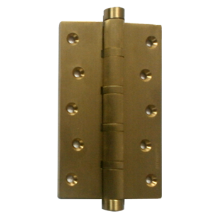 Ball Bearing Hinge - 4X3X4 Inch - Gold
