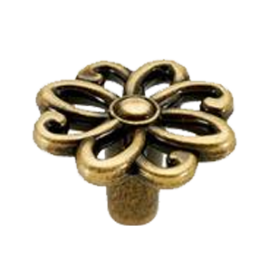 Antique Flower Classic Knob