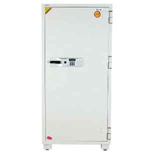 Electronic Safe Fire Proof - Jewellery/retail Safe - (W)800X(H)1700X(D)640mm - White Colour