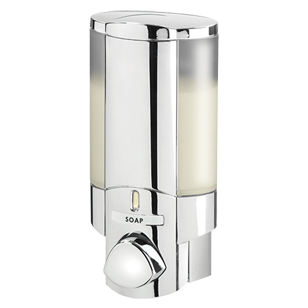 AVIVA Soap Dispenser - Chrome Finish