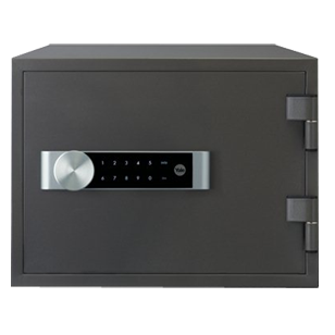 Electronic Home Document Fire Safe Box (Medium) - Grey Colour