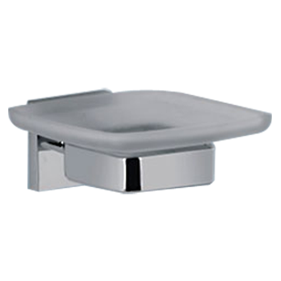 FORTUNE COLLECTION - Soap Dish -  Chrome Plated Finish