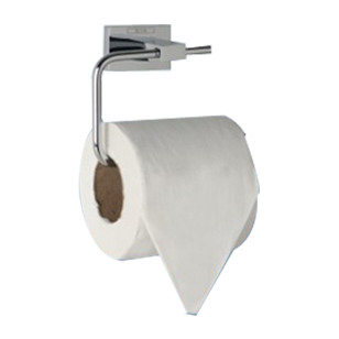 EDRA COLLECTION - Toilet Paper Holder - Chrome Plated Finish