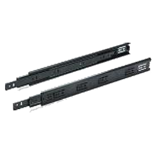 Drawer Runners Ball Bearing Slides Side Mounted Full Extension - 300mm - Black Colour - Load Capacity - 30kg