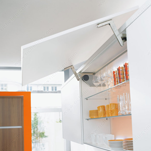 AVENTOS HS Lift System Flap Stay for Wooden Fronts 18mm Thick - Cabinet width  900 x Height 600mm
