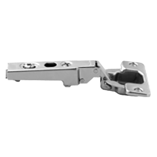 CLIP Standard Hinge - 100°, 0mm Cranked - With Mounting Plate