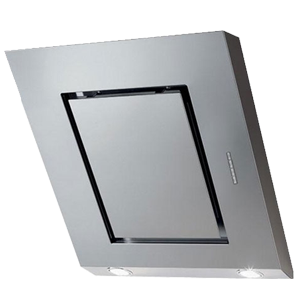 Wall Mounted Decorative Hood - 55cm - Stainless Steel Finish