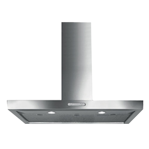 Wall Mounted Hood - 90cm - Stainless Steel Finish