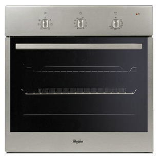 Convection Built-in Oven - 60Ltr - Black Glass & Inox Finish