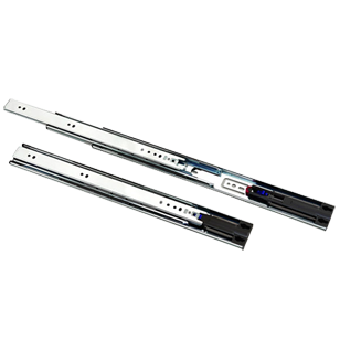 Soft Close Telescopic Slide for Drawers with locking - 300mm(12 Inch)